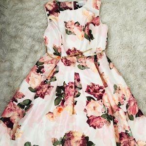 Print Pink Dress